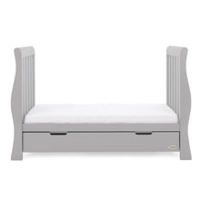 Load image into Gallery viewer, Stamford Luxe Cot Bed - Warm Grey