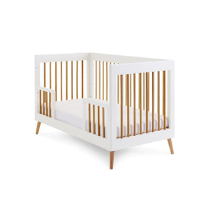 Obaby Maya 2 Piece Nursery Furniture Room Set - White/Natural