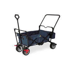 Load image into Gallery viewer, Paxi Dix Comfort Folding Handcart - Navy Blue