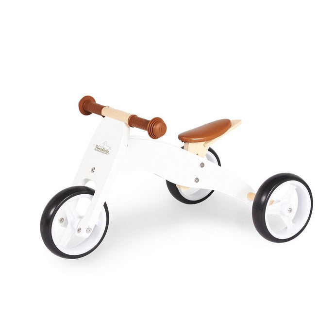 Charlie Mini Tricycle - White/Natural