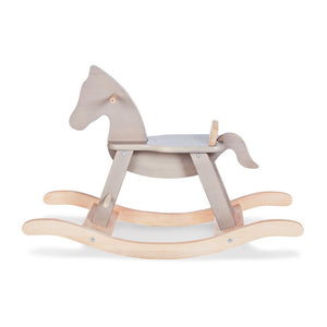 Pinolino Rocking Horse - Grey/Natural