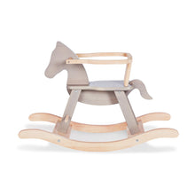 Load image into Gallery viewer, Pinolino Rocking Horse - Grey/Natural