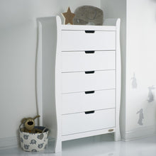 Load image into Gallery viewer, Stamford Tall Chest Of Drawers - White
