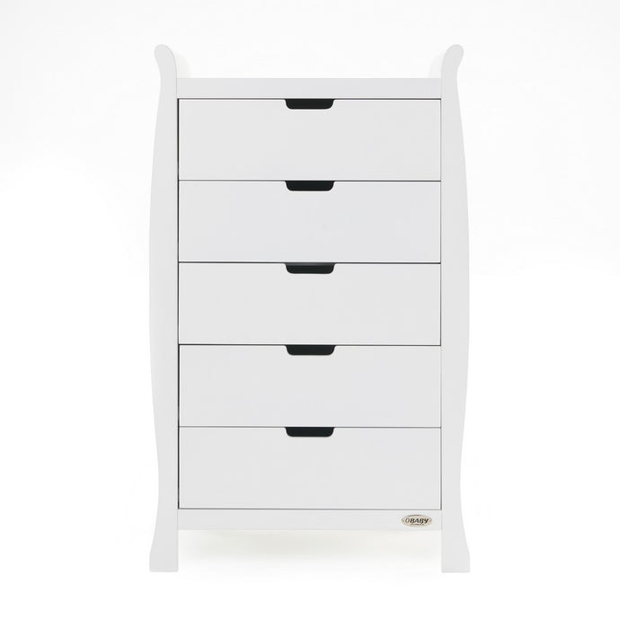 Stamford Tall Chest Of Drawers - White