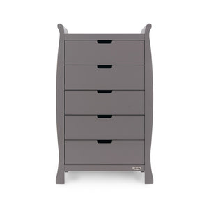 Stamford Tall Chest Of Drawers - Taupe Grey
