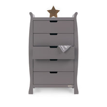 Load image into Gallery viewer, Stamford Tall Chest Of Drawers - Taupe Grey