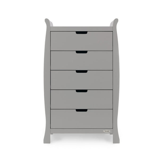 Stamford Tall Chest Of Drawers - Warm Grey