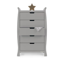 Load image into Gallery viewer, Stamford Tall Chest Of Drawers - Warm Grey