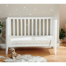 Load image into Gallery viewer, Babymore Iris Cot Bed - White