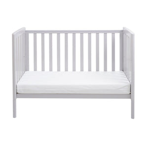 Babymore Ellie Drop Side Cot Bed - Grey