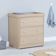 Load image into Gallery viewer, Babymore Luno Veni Chest Changer - Oak
