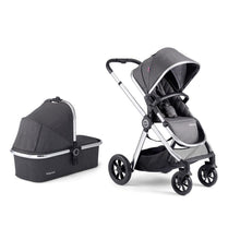 Load image into Gallery viewer, MeMore Pram & Pushchair 11 Piece - Chrome Slate