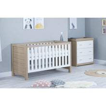 Load image into Gallery viewer, Babymore Luno Room Set 2 Pieces - Oak White