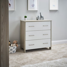Load image into Gallery viewer, Nika Changing Unit - Grey Wash/White