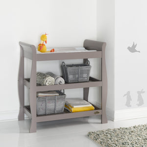 Stamford Open Changing Unit  - Taupe Grey