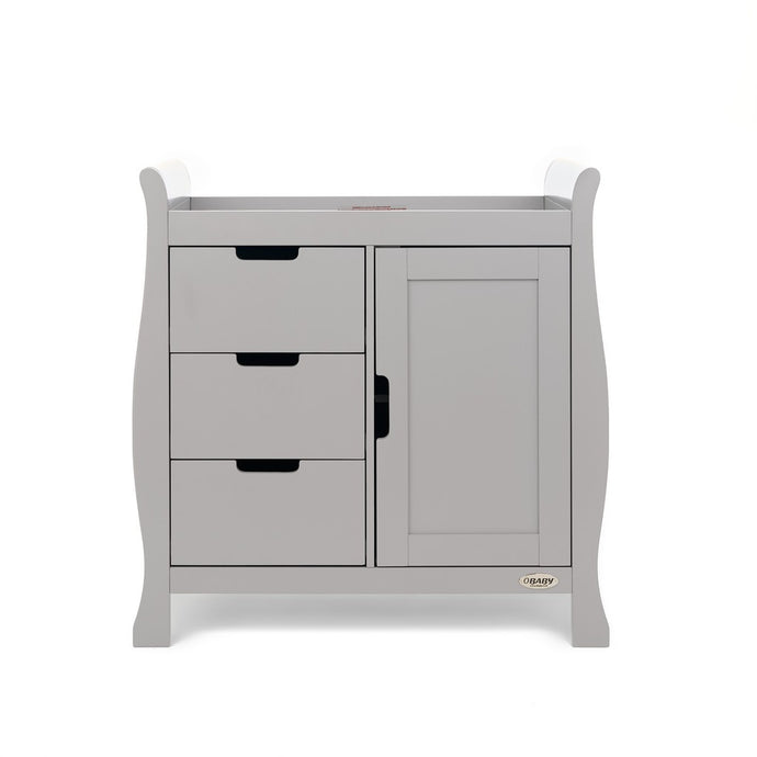 Stamford Closed Changing Unit - Warm Grey