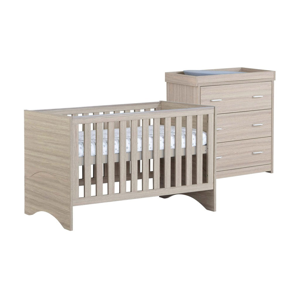 Babymore Veni Room Set 2 Pieces - Oak
