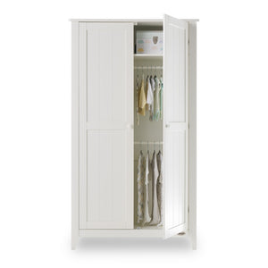 Obaby Belton Double Wardrobe - White