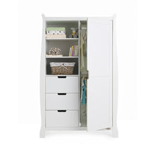Load image into Gallery viewer, Stamford Double Wardrobe - White