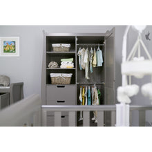 Load image into Gallery viewer, Stamford Double Wardrobe - Taupe Grey