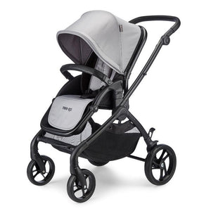 Plumo Travel System Package (incl. Car Seat & Isofix Base) - Ash Grey