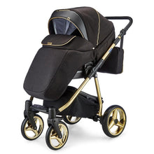 Load image into Gallery viewer, Mee-Go Santino Special Edition Travel System Package - Gold Leaf