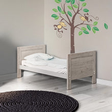 Load image into Gallery viewer, Ickle Bubba Grantham Mini Cot Bed - Grey Oak