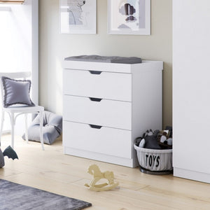 Ickle Bubba Coleby Changing Unit / Chest - White