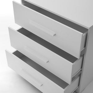 Ickle Bubba Grantham Chest of Drawers / Changer - Brushed White