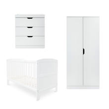 Load image into Gallery viewer, Ickle Bubba Coleby Mini 3 Piece Furniture Set - White