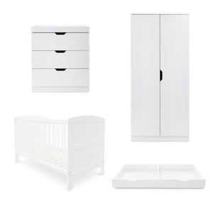 Ickle Bubba Coleby Mini 4 Piece Furniture Set - White