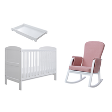 Load image into Gallery viewer, Ickle Bubba Coleby Mini Sleep, Feed & Change 4 Piece Bundle - White