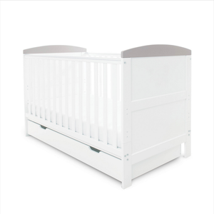 Ickle Bubba Coleby Classic Sleep, Feed & Change 6 Piece Bundle - White/Grey
