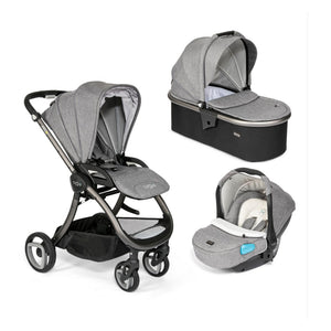 Arlo Charcoal 3 in 1 Travel System - Charcoal