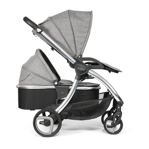 Arlo Chrome 3 in 1 Travel System - Charcoal