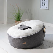 Load image into Gallery viewer, Tutti Bambini Baby Beanbag - Cloud Grey