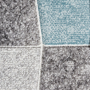 Think Rugs Brooklyn 22192 - Grey/Blue