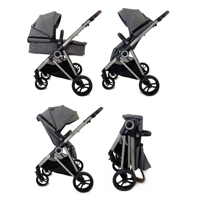 Estilo Bebe Otter 2 in 1 - Pebble Silver