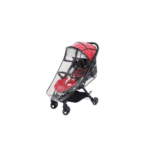 Momi From Birth Stroller - Black/Poppy