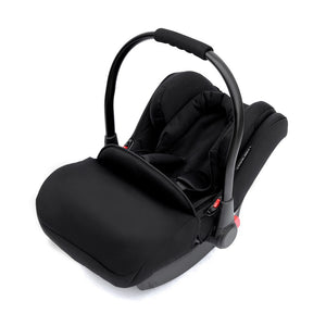 Ickle Bubba Moon Travel System With Galaxy Car Seat & Isofix Base - Black Chassis