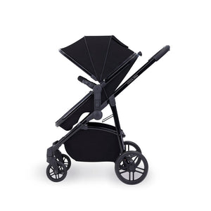 Ickle Bubba Moon 3-In-1 Travel System With Astral Car Seat - Black Chassis