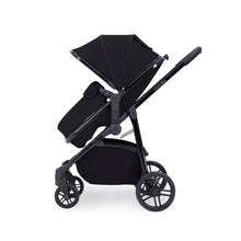 Load image into Gallery viewer, Ickle Bubba Moon 3-In-1 Travel System With Astral Car Seat - Black Chassis