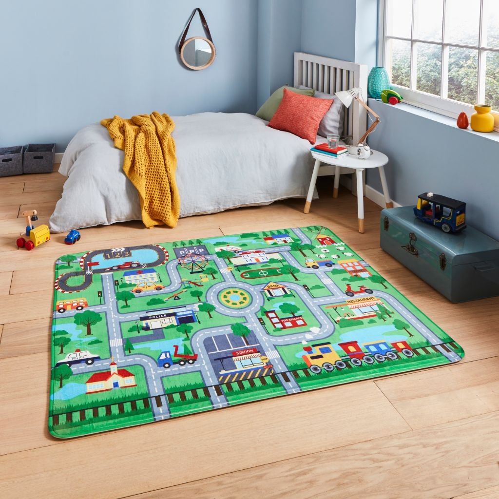 Think Rugs Inspire G4563 - Green