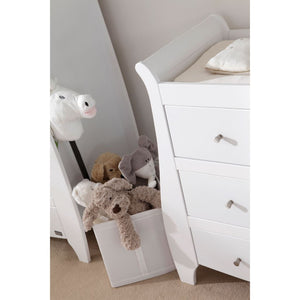 Tutti Bambini Lucas / Katie Chest Changing Unit - White