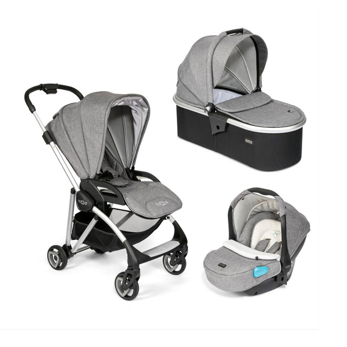 Koji Silver 3 in 1 Travel System - Charcoal
