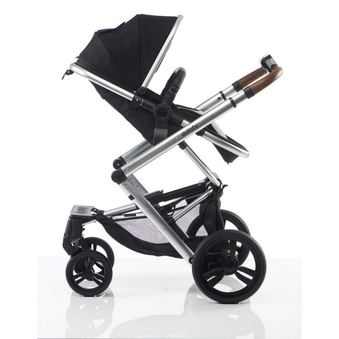 Didofy Lotus Pushchair & Carrycot - Black