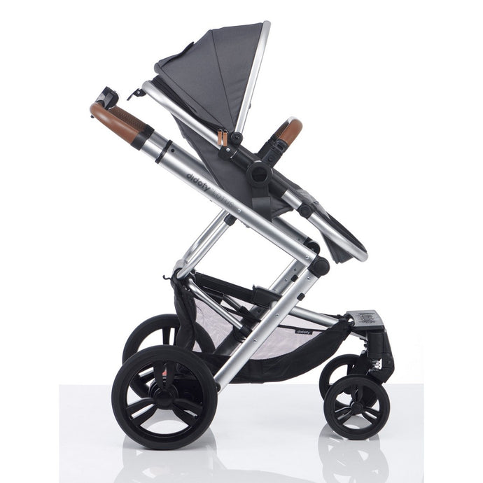 Didofy Lotus Pushchair & Carrycot - Grey