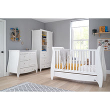 Load image into Gallery viewer, Tutti Bambini Lucas 3 Piece Room Set - White
