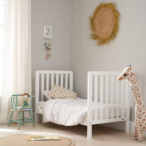 Tutti Bambini Malmo Cot Bed With Rio Furniture 3 Piece Set - White