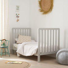 Load image into Gallery viewer, Tutti Bambini Malmo Cot Bed (Dove Grey) With Rio Furniture 3 Piece Set - Dove Grey/White